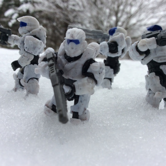 """Image of: Artic fire team """"Frost"""""""