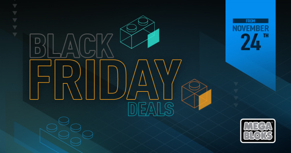 Mega Bloks Collectors: Black Friday Deals! (US Only)