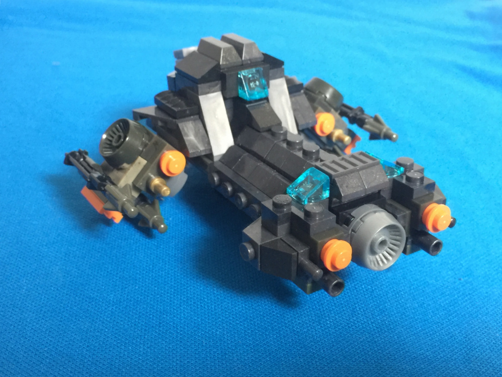 Mega Construx Fan Gallery Starcraft 2 Battlecruiser