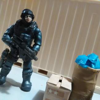 Image of: Custom seal project ( no mask)