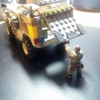 "Custom V1 Humvee ""Shadow Company"""