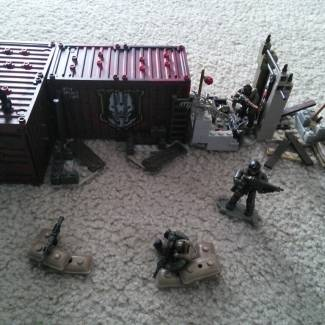 Image of: Military Outpost