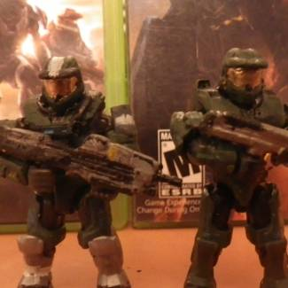 Image of: John-S117 Reach, Combat Evolved, 2, and 3.