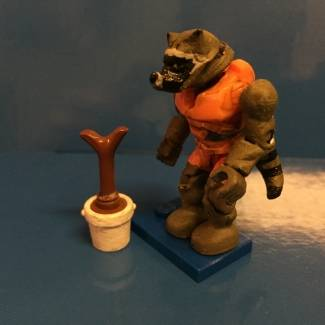 Image of: Rocket Raccoon marvel mega bloks