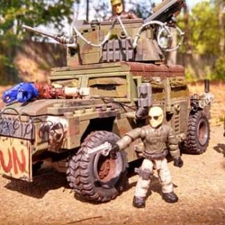 Hunter's Humvee from PS exclusive game: Last of Us!