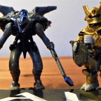Image of: Halo Created Promethean and Gold Brute Captain