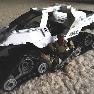 Image of: M864 A (Cut from Halo 2) aka Snow Hog