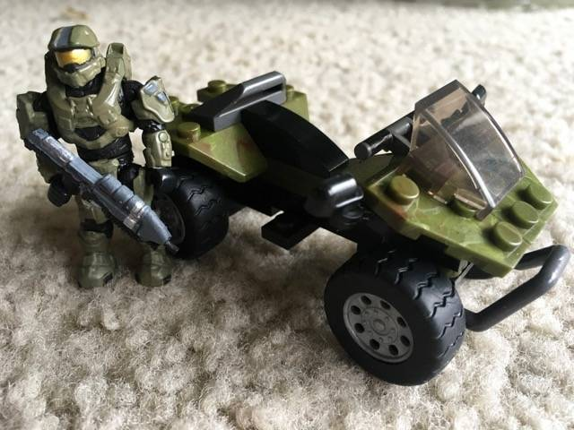 Master Chief and Mongoose custom