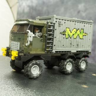 Image of: Container Truck Mod