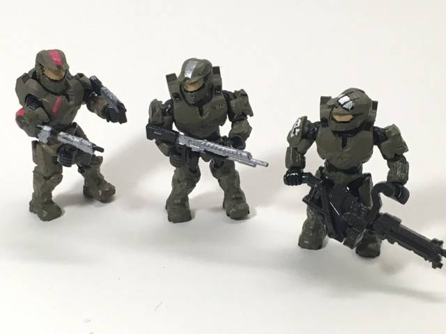 Image of: Red Team Spartans (Halo Wars 1)