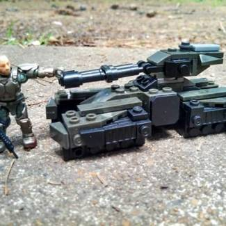 Micro Fleet UNSC Grizzly part 2:More photos