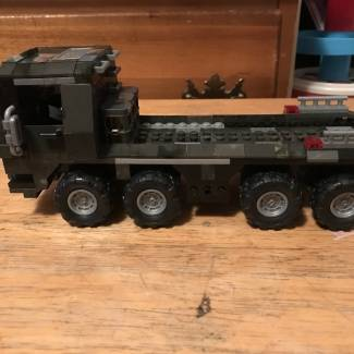 Image of: UNSC supply truck extended cab
