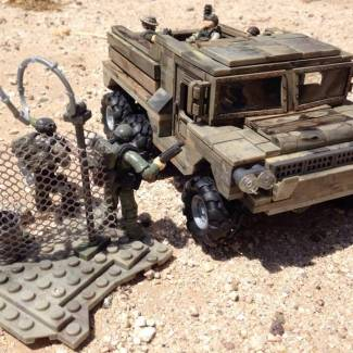 custom call of duty cute and funny mini army truck 2 and 1/2 ton