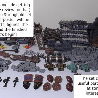 Dragons Vorgan Stronghold 150th post special set review!  (Part one)
