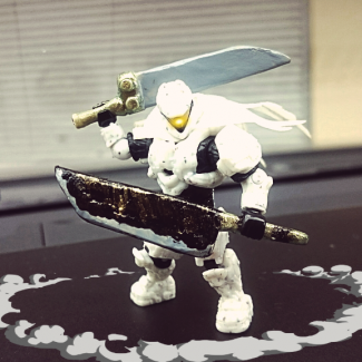 White Knight berserk!