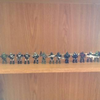 Image of: My ODST collection