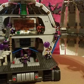 Moving in day at the Technodrome...