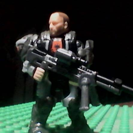 ODST Sniper with custom backpack that can hold helmet