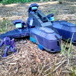Covenant Air Artillery: A deleted vehicle from Halo Wars!