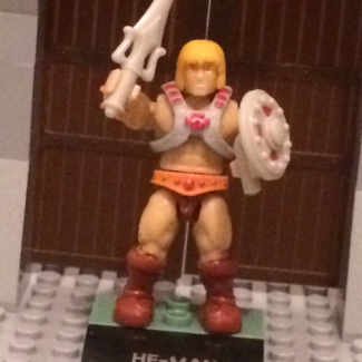 Image of: Custom Mega Bloks Castle Greyskull