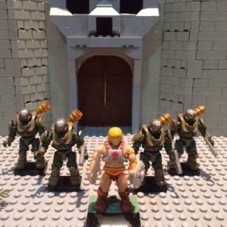 Image of: Custom MOTU Eternian Guards