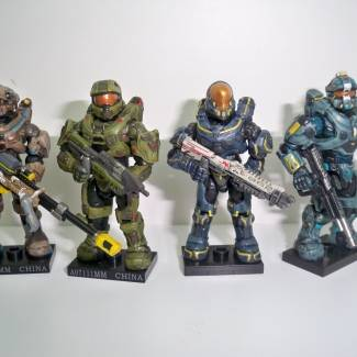 Image of: Custom Blue Team