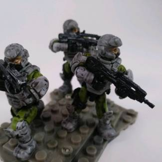 Image of: Custom UNSC Marines.
