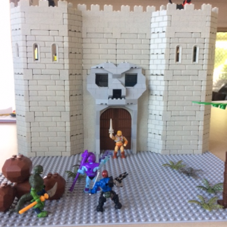 Image of: Custom Castle Grayskull