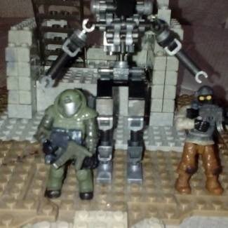 Image of: SCI FI ROBOT COMBAT WITH PROBUILDER