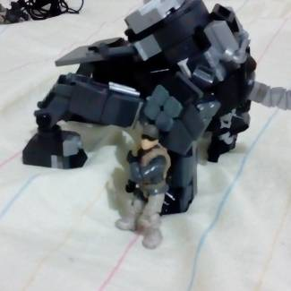 MARVEL THE RHINO MECH