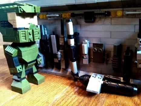 Kubro Master Chief Custom UNSC Weapons Collection pt.1