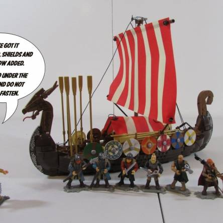 Viking ship review!!