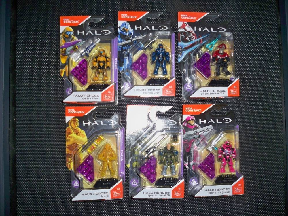 Halo Heroes Series 6 in the wild