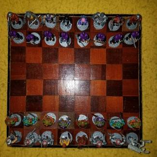 TMNT Chess Battle