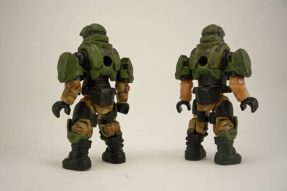 Image of: Halo 3 male and female Marines