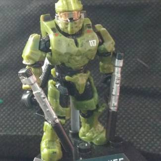 Image of: Master Chief with a little more detail