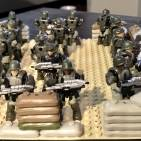 Troops waiting for evac