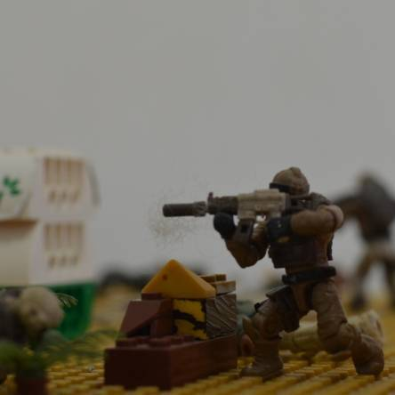Tactical team Stop motion.