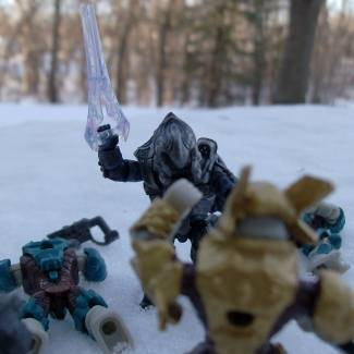 Image of: battle thing in the snow