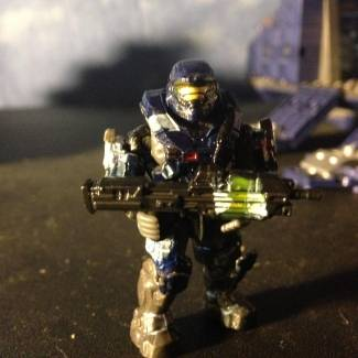 First Custom Painted Spartan