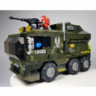 Image of: Halo UNSC Truck Custom Build