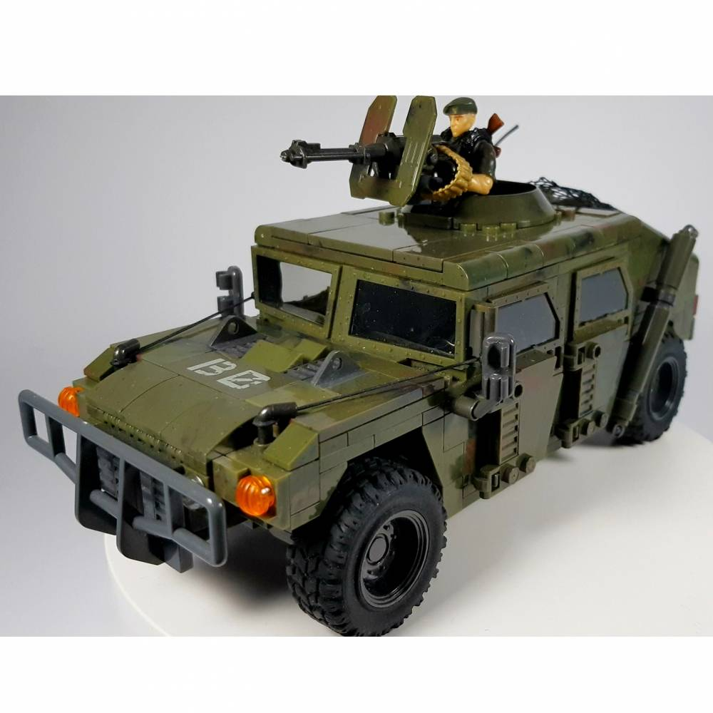 Call of Duty Humvee slight customization