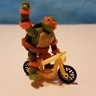Mike on a bike