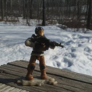 Custom Allied Nations Soldier