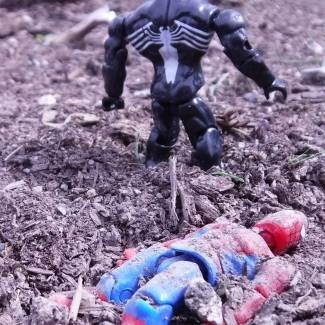 Image of: The Fall of Spiderman