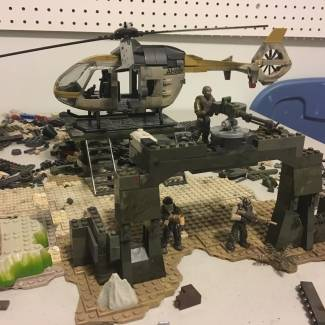 Image of: Helicopter outpost Omega (In Progress)