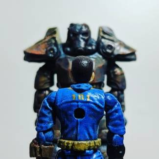 Image of: Fallout Vault Suit Guy