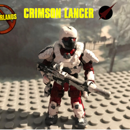 Borderlands Crimson Lance Soldier!!!