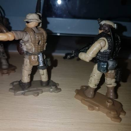 A new Generation of Tan Soldiers