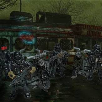 Image of: Zombie Apoc team